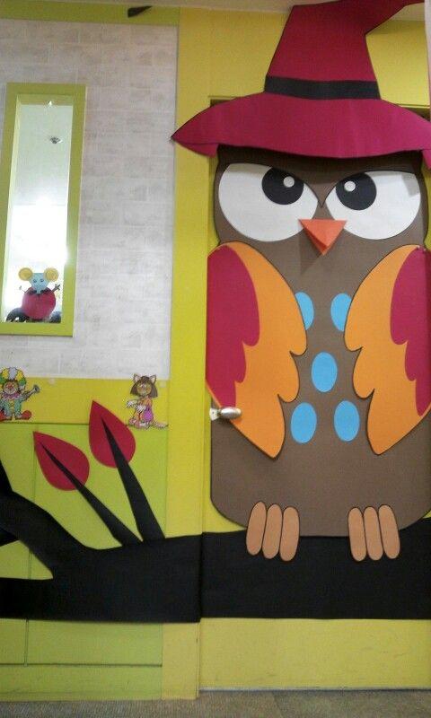 Cute Halloween Door Decoration Class Crafts School Door