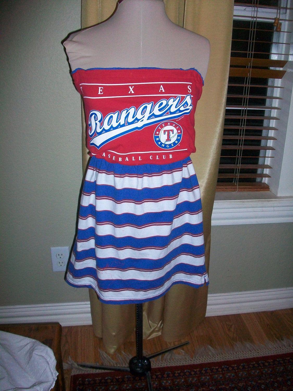 texas rangers t shirt dress
