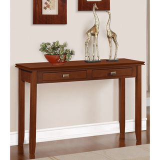 @Overstock   Stratford Auburn Brown Console Sofa Table   The Stratford  Console Sofa Table Can