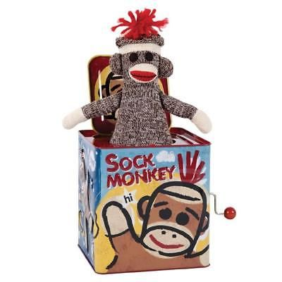 Jack-in-the-Box 166785: Sock Monkey Jack In The Box -> BUY IT NOW ONLY: $35.94 on eBay!
