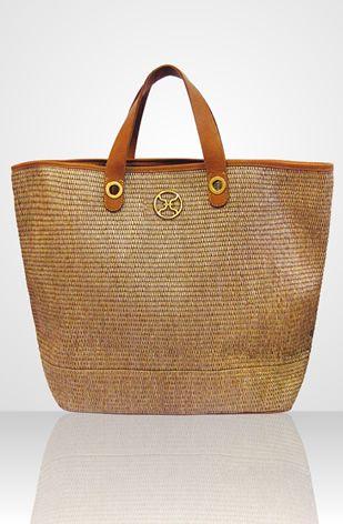 understated, elegant, neutral, big beach bag - goes with ...