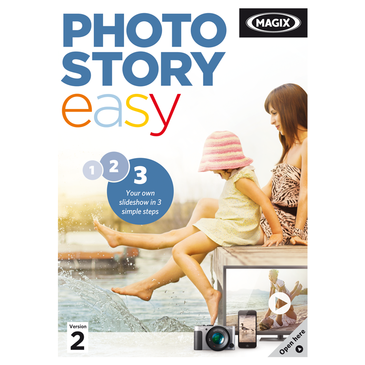MAGIX PhotoStory Photo Editing Software Download Purch