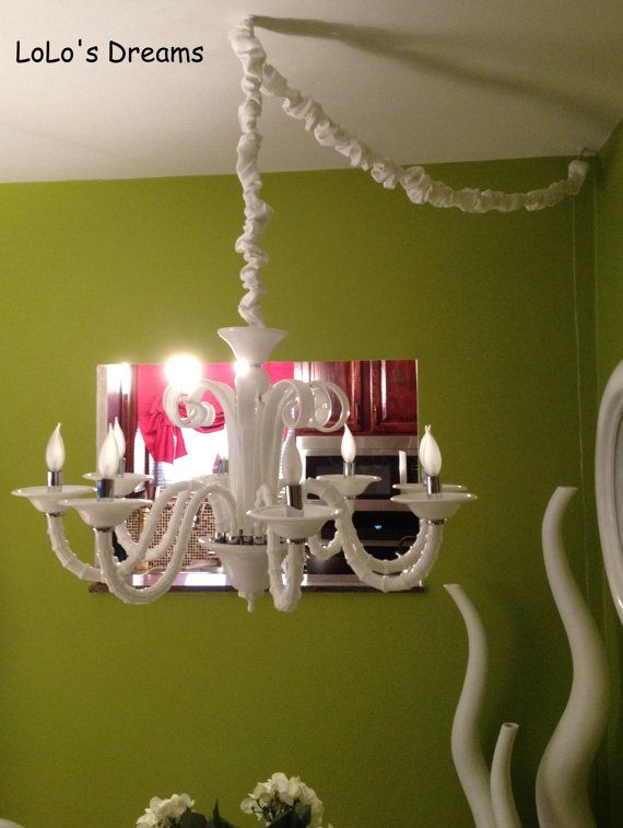 Nursery Chandelier 15 99 Etsy Chandelier Chain Cord Cover