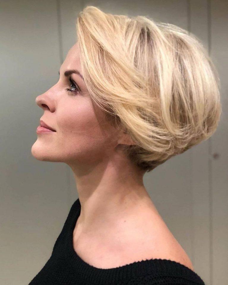 Pin Auf Kurze Haarschnitte