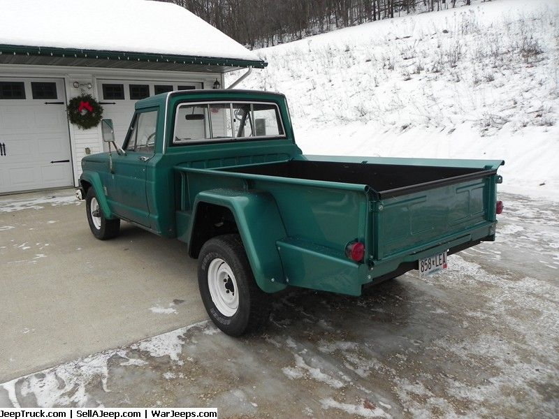 Jeep Trucks For Sale And Jeep Truck Parts 1963 J200 Thriftside