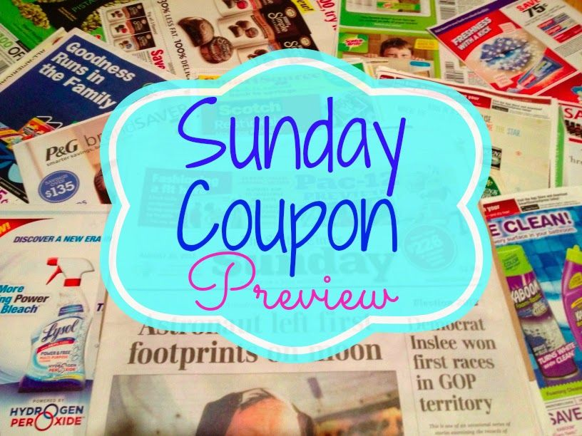 Sunday Coupon Preview 7 20 No Inserts Scheduled But There Are Printables Sunday Coupons Coupons Smartsource