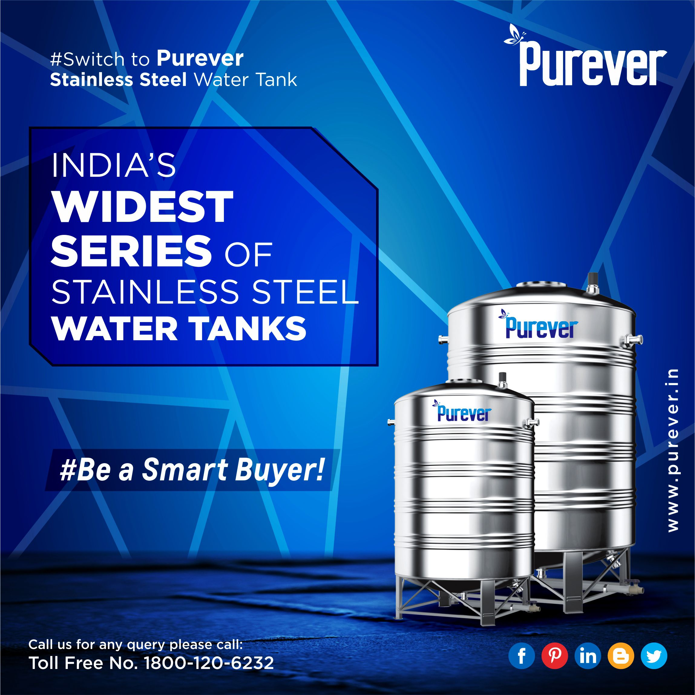 Purever Offers The Widest Range Of Stainless Water Tanks Giving Your Home A Safe Secure Water Storage Solutions 1 Steel Water Tanks Water Tank Steel Water