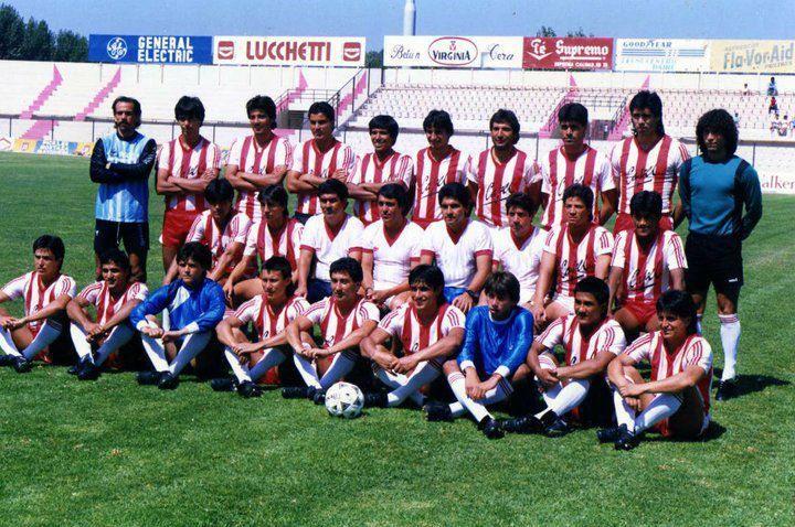 Deportes La Serena 1987 (camiseta albirroja)