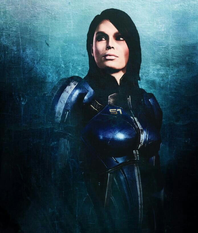Erica Cerra Mass Effect