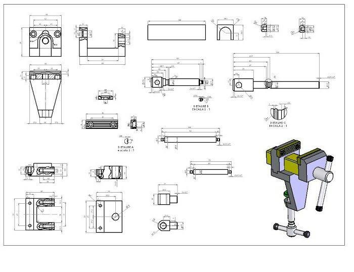 Pin De Terskret En Planos Planos Mecanicos Ejercicios De Dibujo Diseno Mecanico