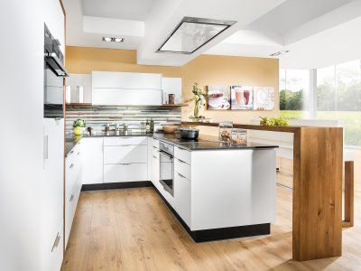 Moderne Deko Idee Modern Küche Mit Integriertem Essplatz Gemütlich