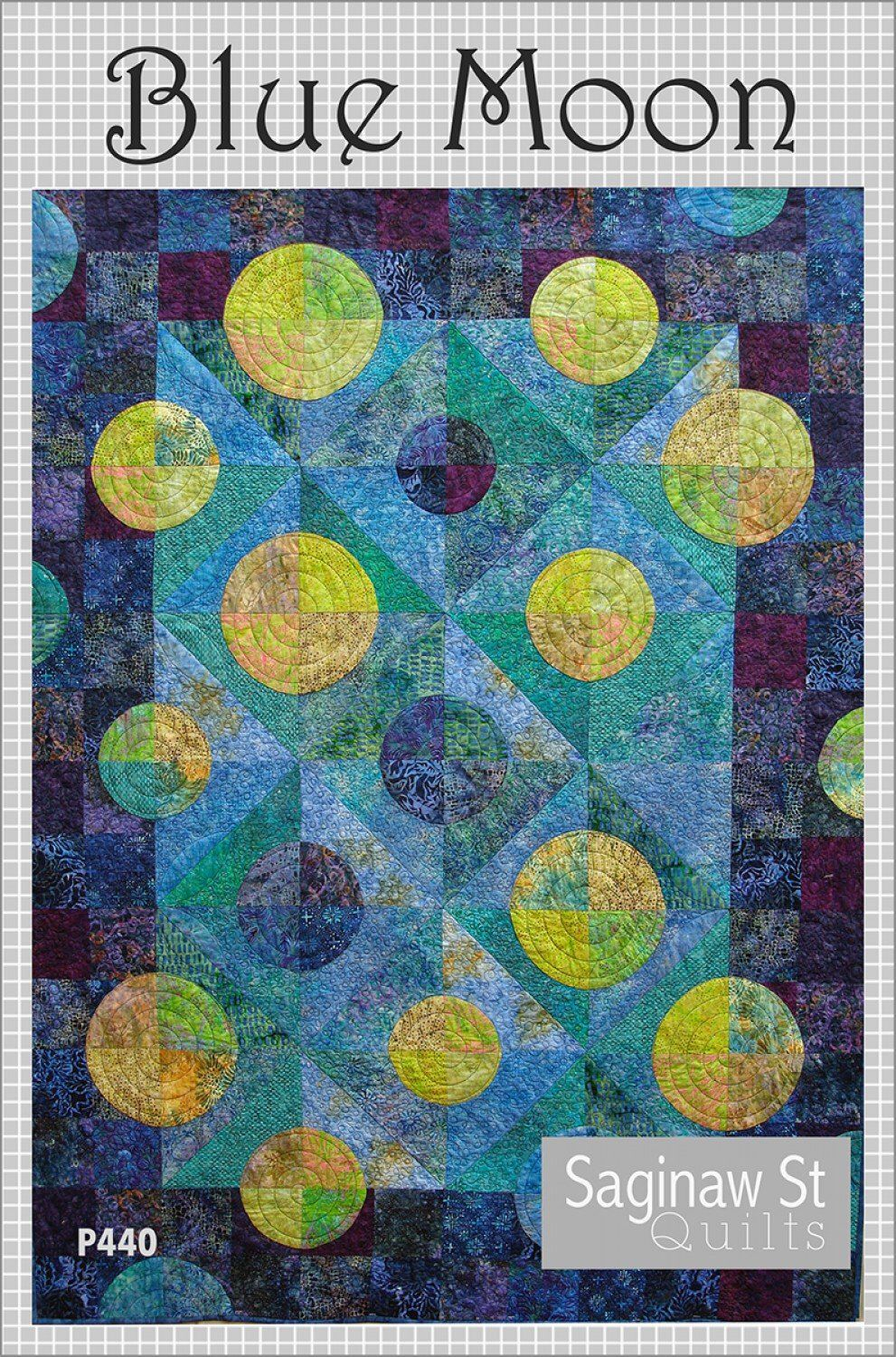 DIY Quilting Eclipse Quilt Pattern Quilt Country Great for Batik Fabrics