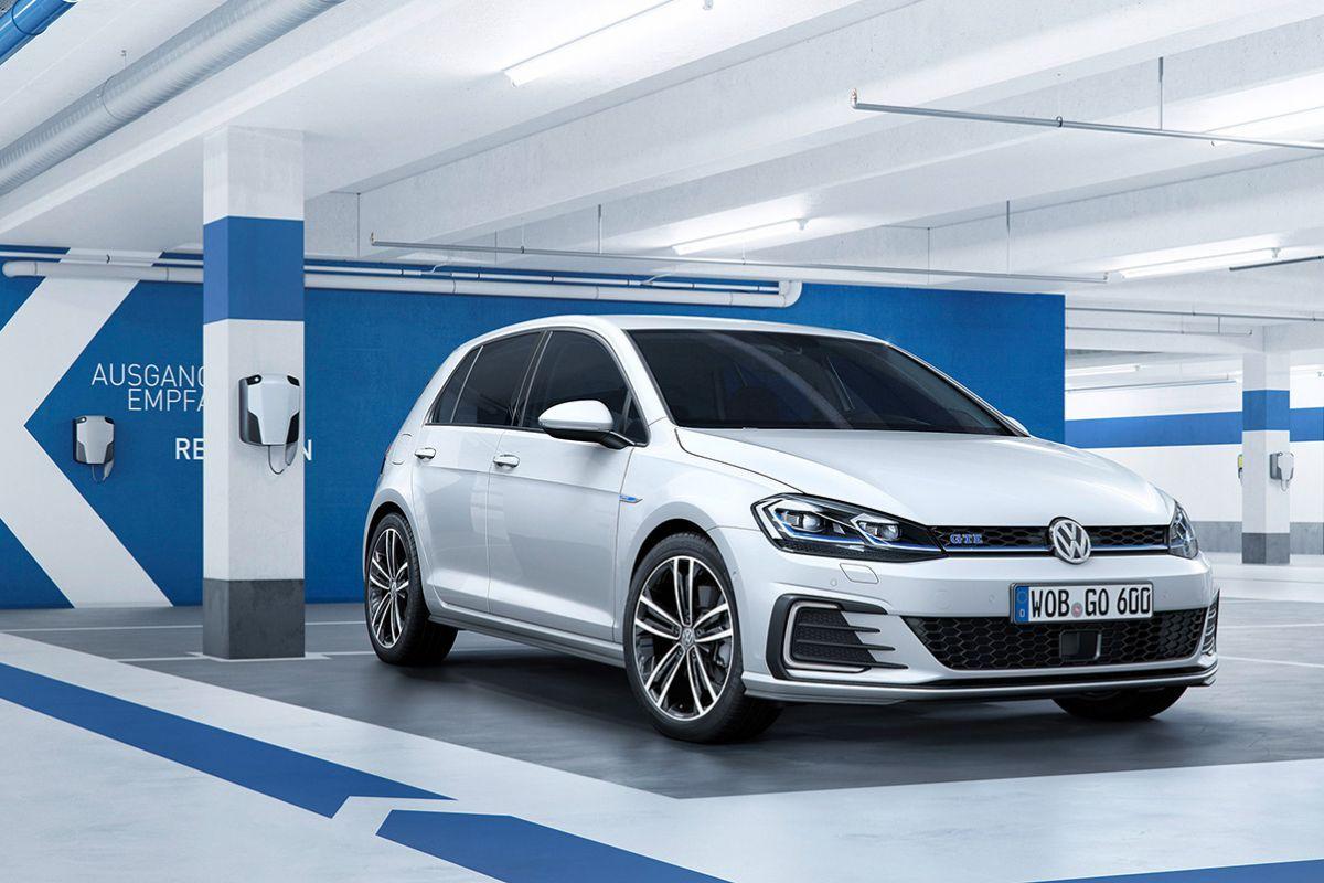 2017 Vw Golf Gte Facelift Mk7 Voiture Electrique Volkswagen