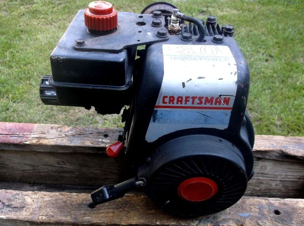 Craftsman Go Kart : Tecumseh hp horizontal shaft engine craftsman edger go