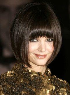 Elegant Katie Holmes Bob   Katie Holmes Bob Hair Cut