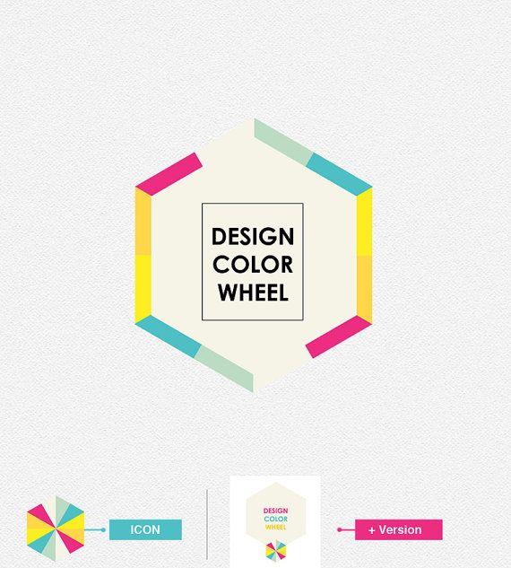 Design Color Wheel Logo Design Branding Pinterest Design