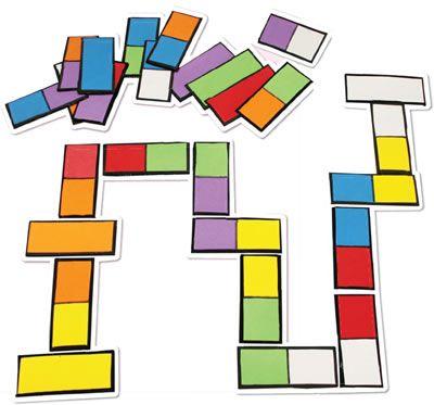 Atividades Para Ferias Domino Colorido Pra Gente Miuda Educacao Infantil Atividades Atividades Para Idosos