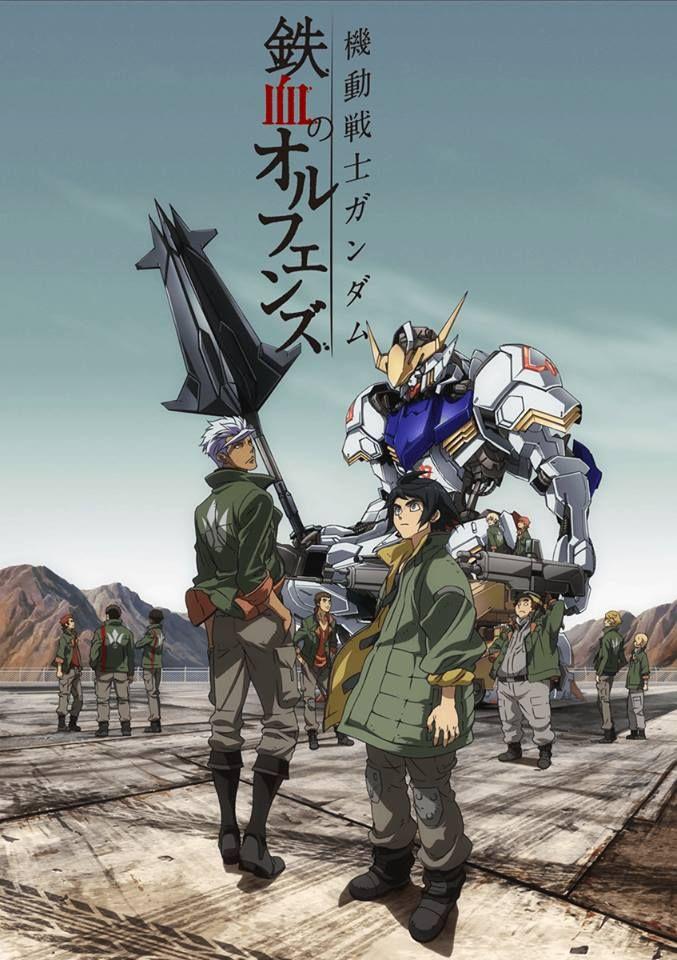 Gundam IronBlooded Orphans sinossi ufficiale e messa