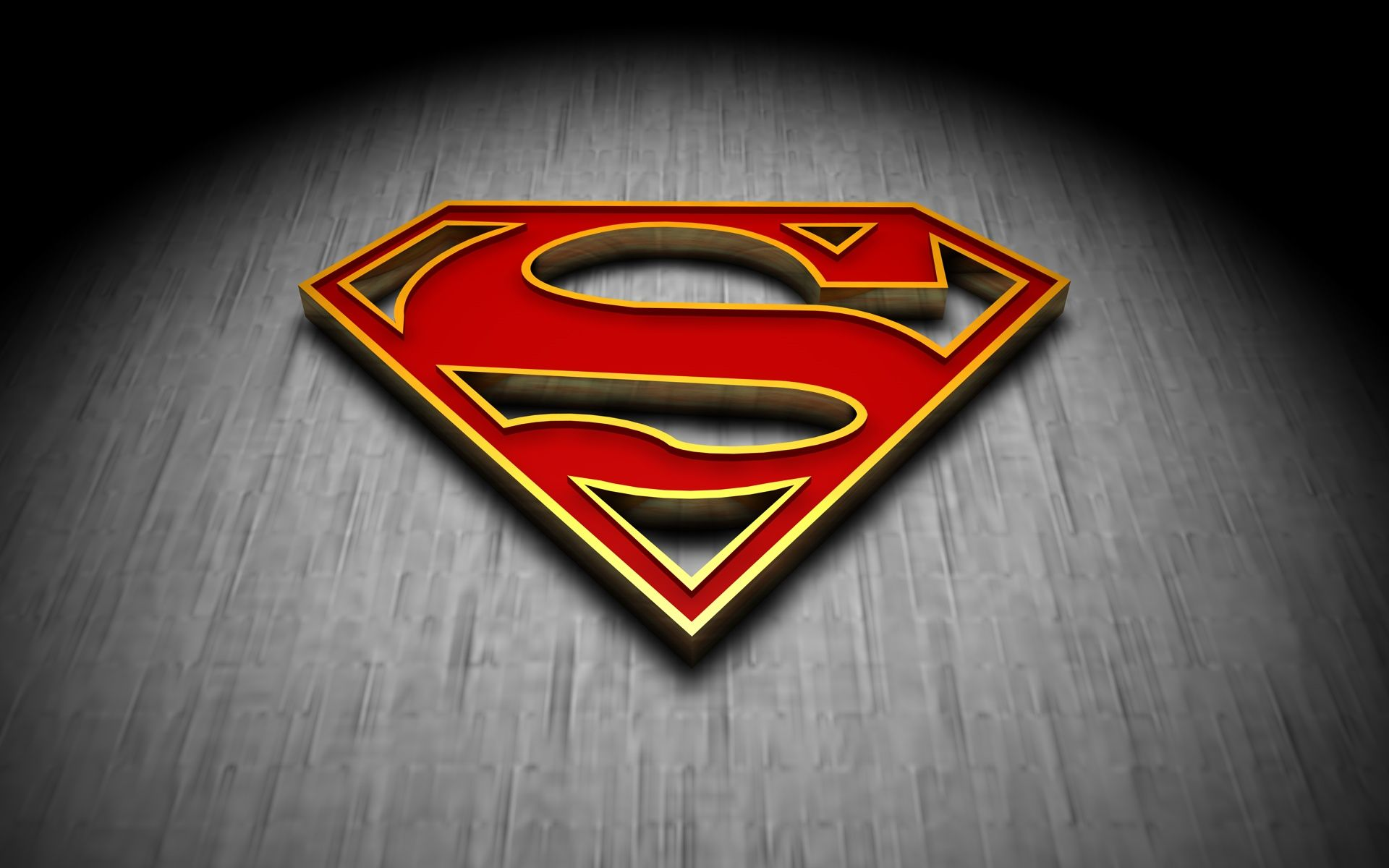 Superman 3d Logo With Images Superman Wallpaper Logo Superman