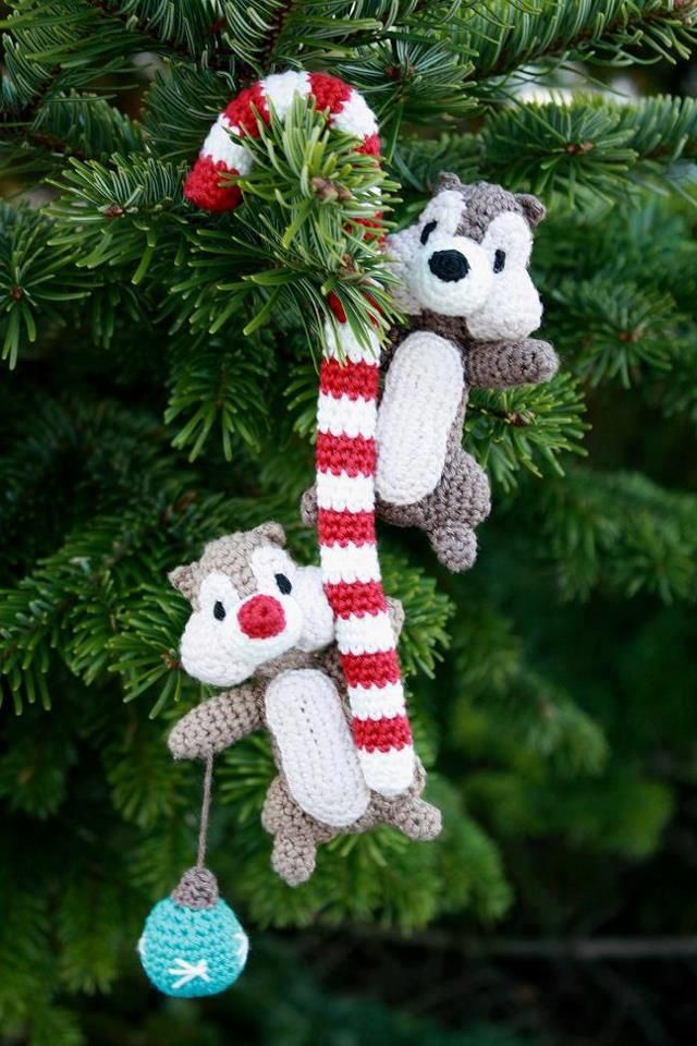 http://www.ravelry.com/patterns/library/chip--dale | Crochet ...