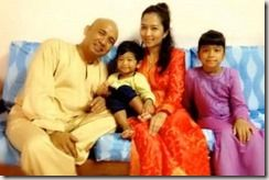 Malaysian Airlines flight MH 370 was flown by pilot Zaharie Ahmad Shah, who had recently split up from his wife Faiza Khanum Mustafa Khan