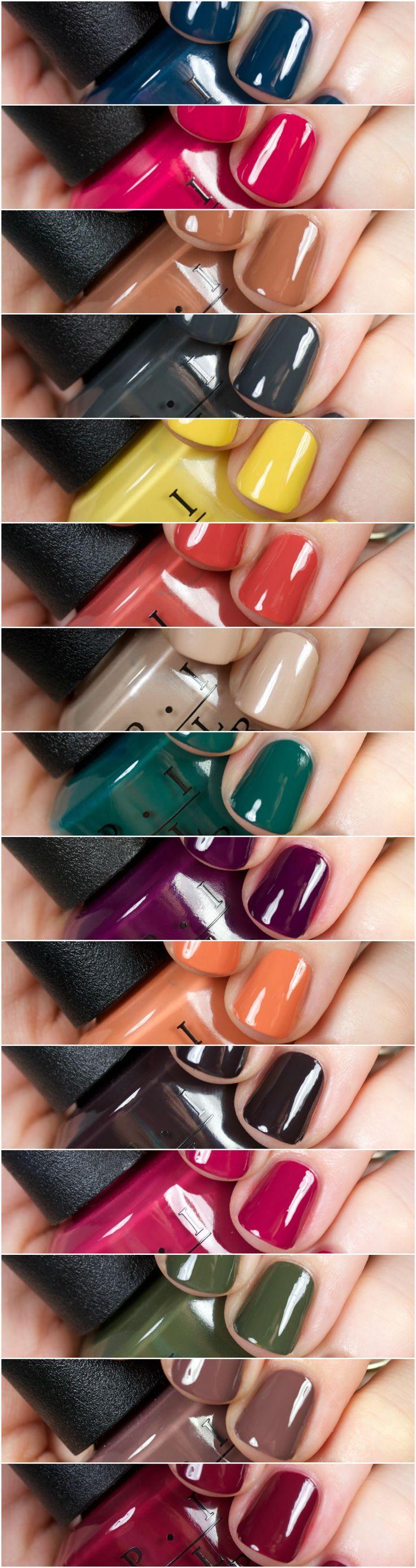 OPI Washington DC Collection   Nail polish collection, OPI and Opi ...