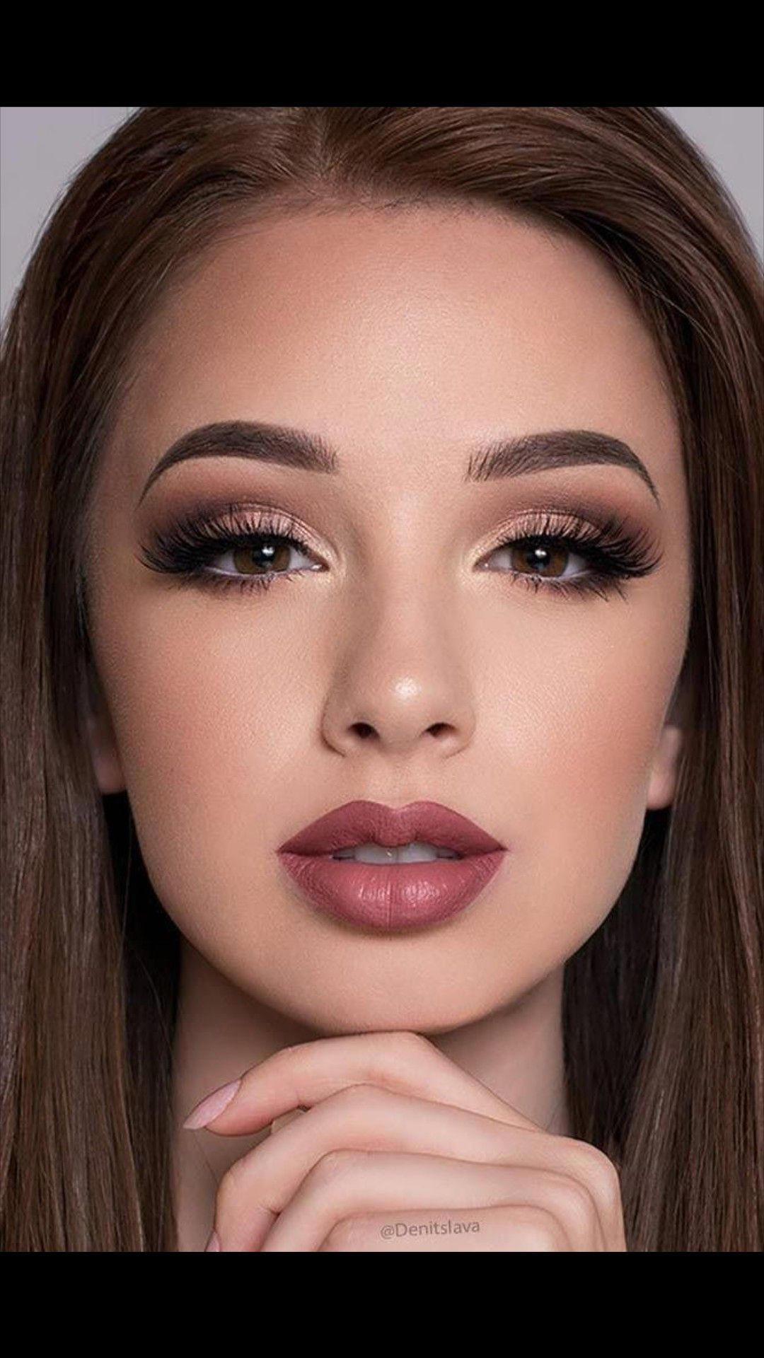 Eye Makeup For Brown Eyes: 10 Stunning Tutorials And 6 ... |Prom Makeup For Brown Eyes