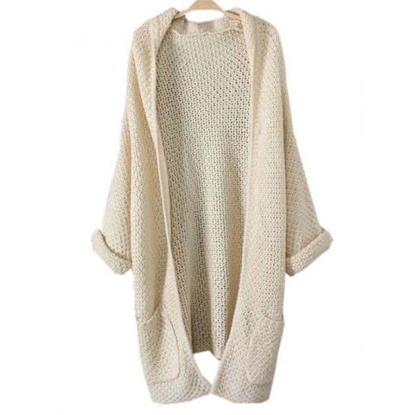 Long Chunky Cardigan with Pocket | Fashion patterns and Chunky ...