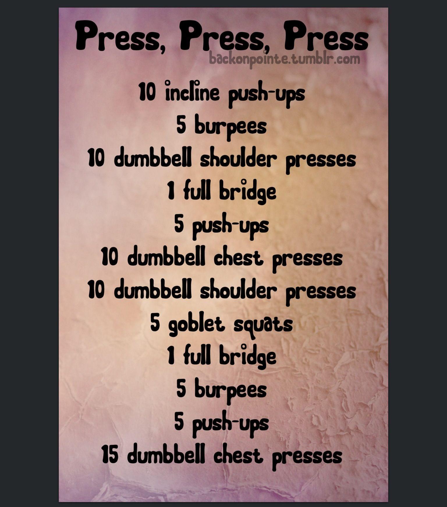 Press, Press, Press