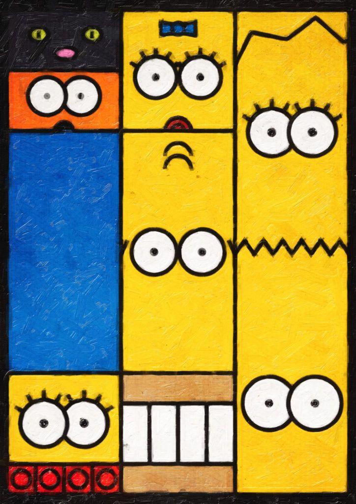 Cultura Pop En Arte Cubista Pablo Pikachu Inspirado Por Picasso77e83d41337149 57a1f6bdcc Dibujos De Los Simpson Fondos De Los Simpsons Imágenes De Los Simpson