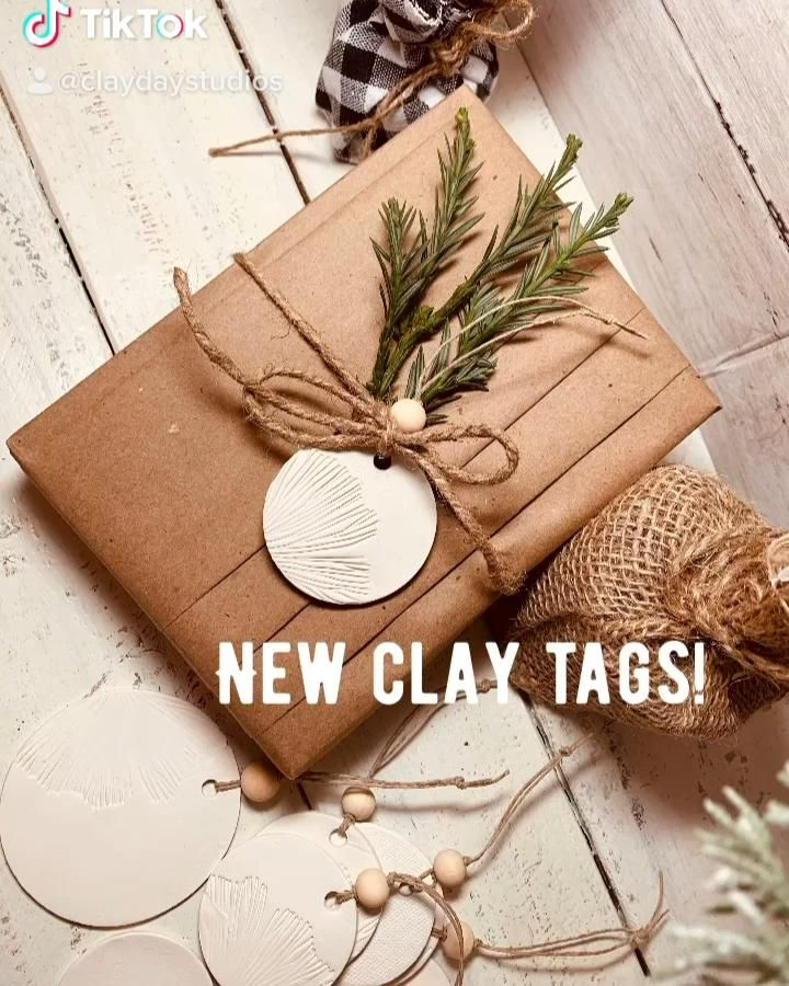 New clay tags!