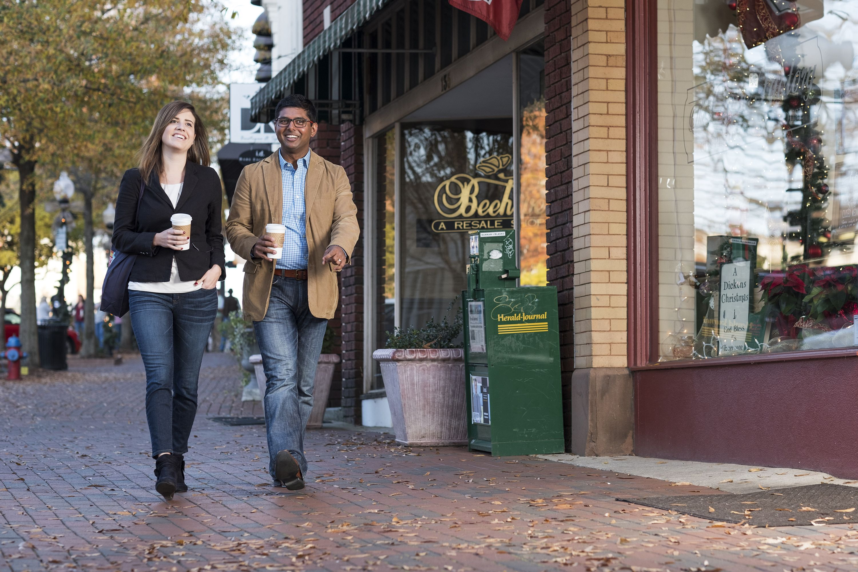 Walkable Downtown Spartanburg Is Home To Dozens Of Restaurants Coffee S Bars