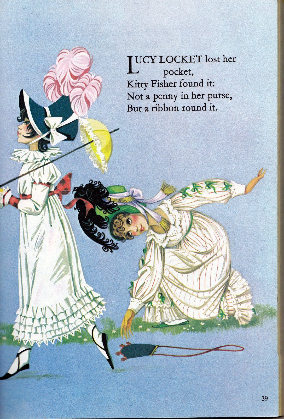 Vintage Books For The Very Young Deans Mother Goose Book Of Rhymes