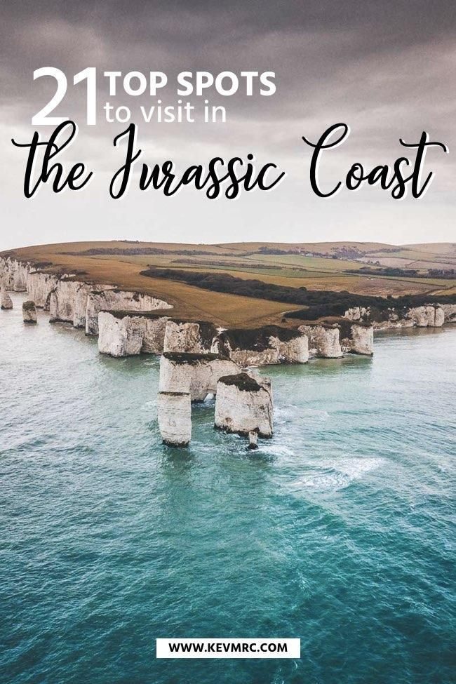 21 Incredible Places to See on the Jurassic Coast + free map included! #travelengland