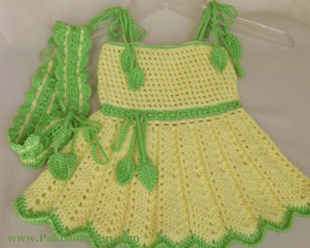 Crochet Cute Baby Dress Imgkid