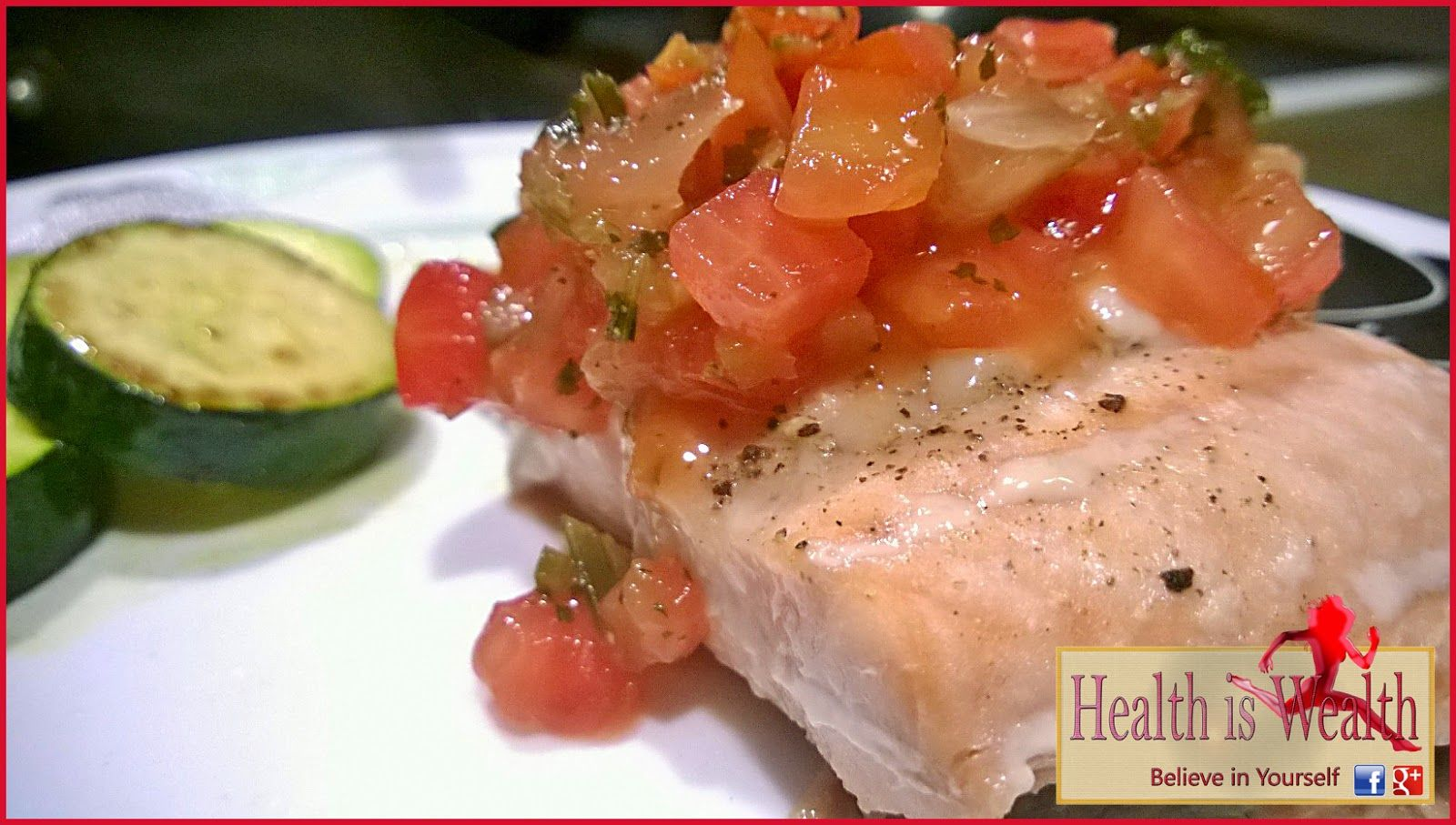 Strong and Beyond: Baked Salmon with Fresh Salsa