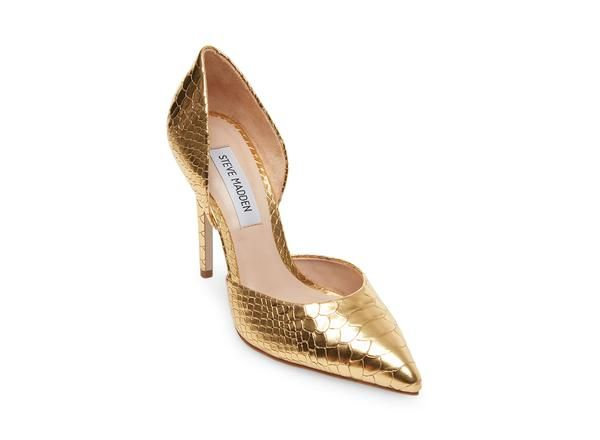 e8c4bc4e5f17e Hypnotic gold snake in 2019 | Disney Prom | Heels, Womens high heels ...