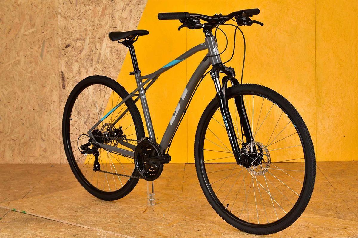 舗装路やダートに対応するgtのクロスバイク Transeoシリーズ クロス 自転車 自転車 ブランド