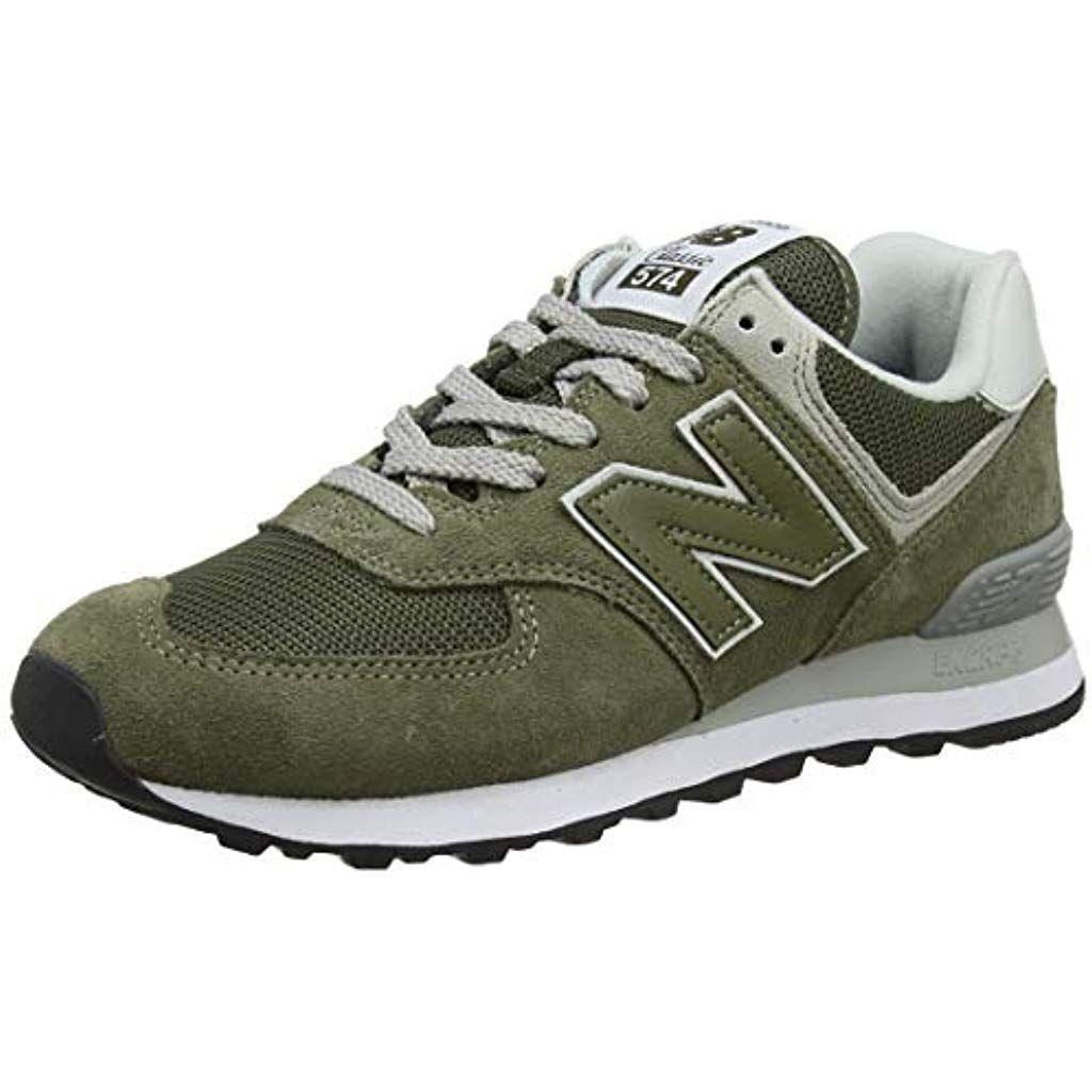 amazon sleek first look New Balance Herren 574v2 Core Sneaker Schwarz #Schuhe ...