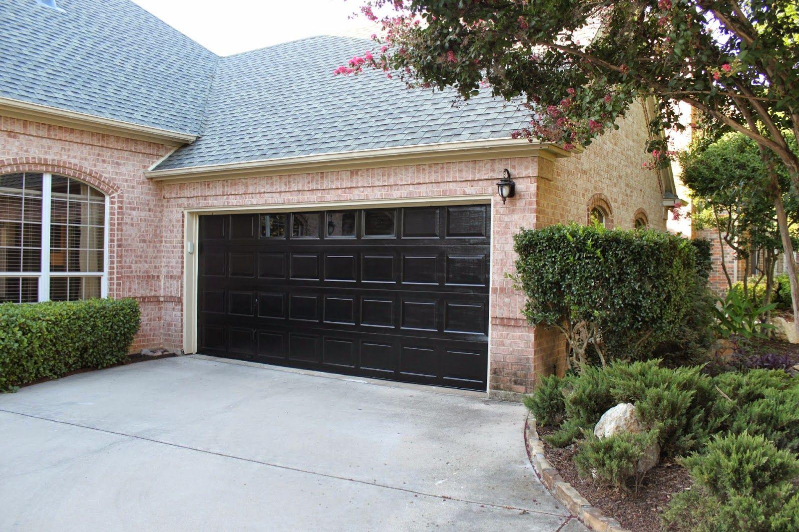 Painting Your Front Door Garage Doors Black Garage Doors Garage Door Colors