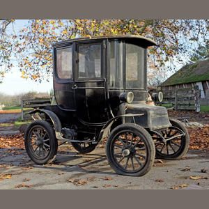 1910 Detroit Electric Model D Brougham Chassis No 1886 Needs A