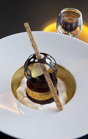 La Pyramide. Restaurant d'un Grand Chef Relais & Châteaux et hôtel en ville. Vienne.
