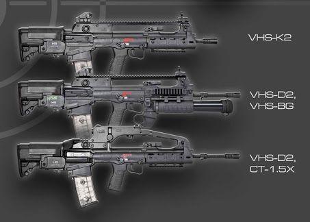 Vhs 2 Rifle
