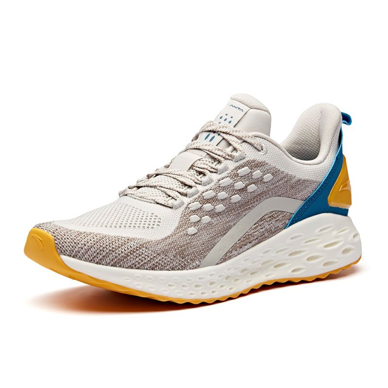 f783dd5140b Anta 2019 Men s Wormhole A-Flashfoam Cushioning Running Shoes - Fax ...