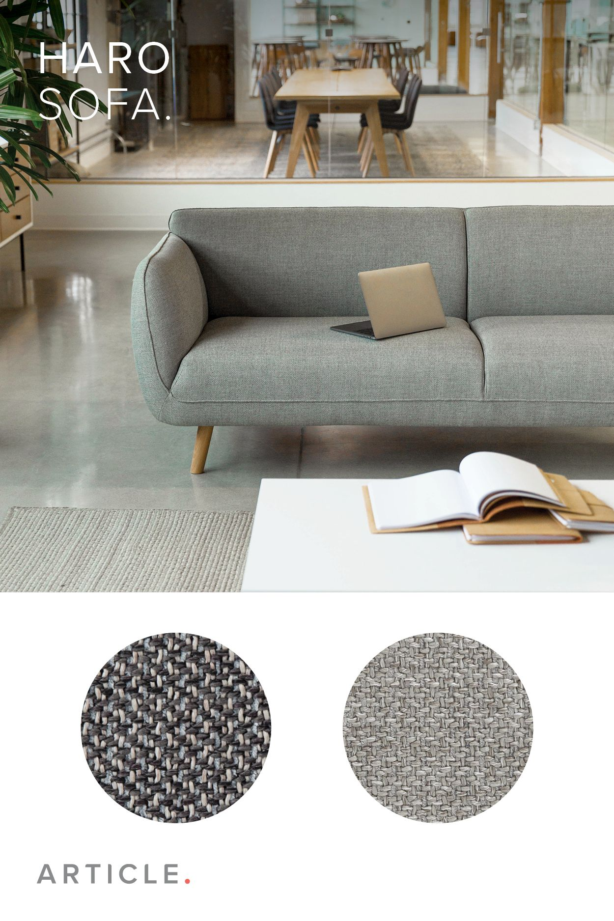 Can Furniture Elicit Emotional Investment Every Detail Of The Haro Sofa Is As Carefull Contemporary Sofa Mid Century Modern Sofa Couch Mid Century Modern Sofa