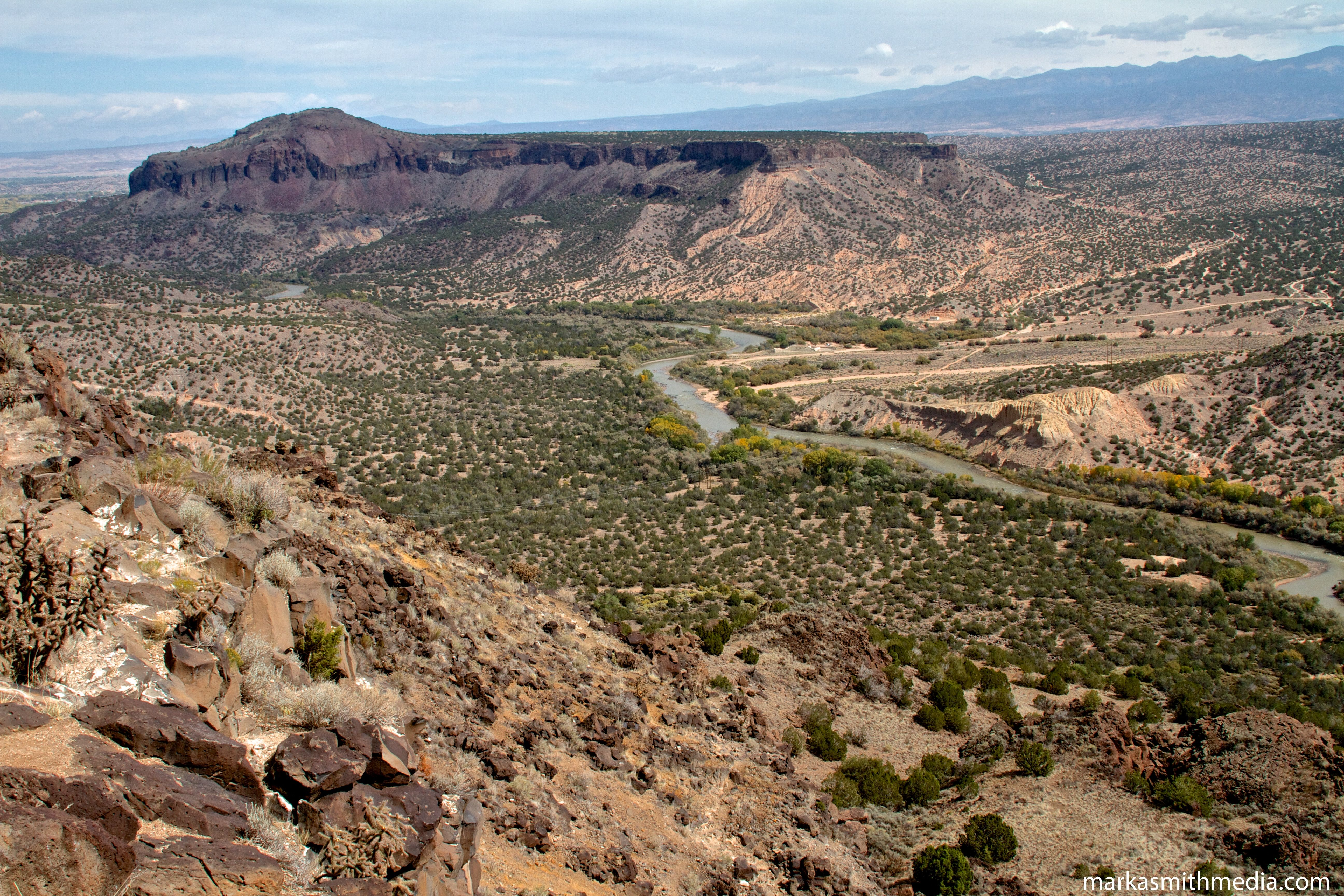 White Rock Canyon Natural landmarks, Canyon, New mexico