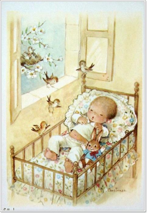 Открытки к детским фотографиями