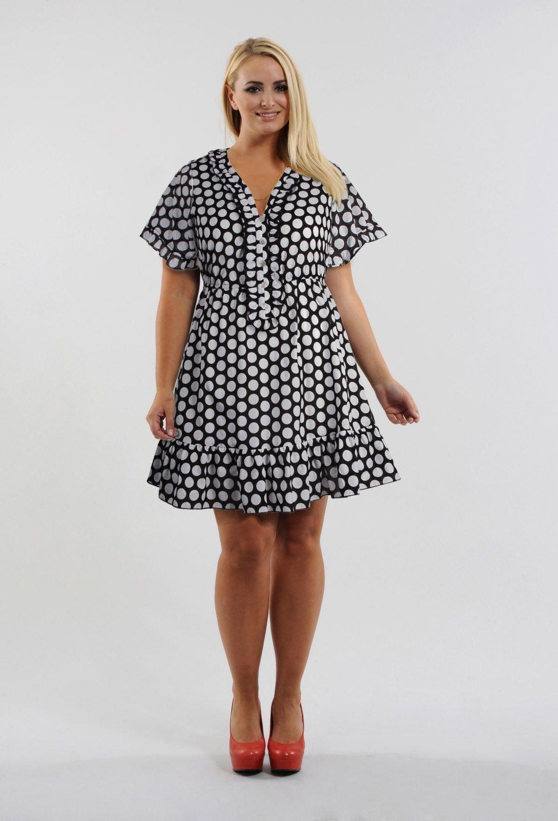 Anna Scholz - Cotton Print Frill Tunic   Glamorous ...