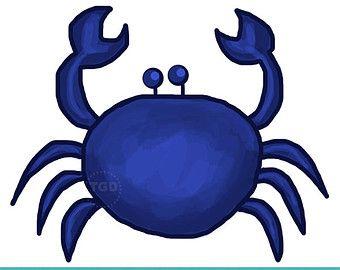 blue crab clip art scamp ideas pinterest rh pinterest com Crab Clip Art Red Crab Clip Art