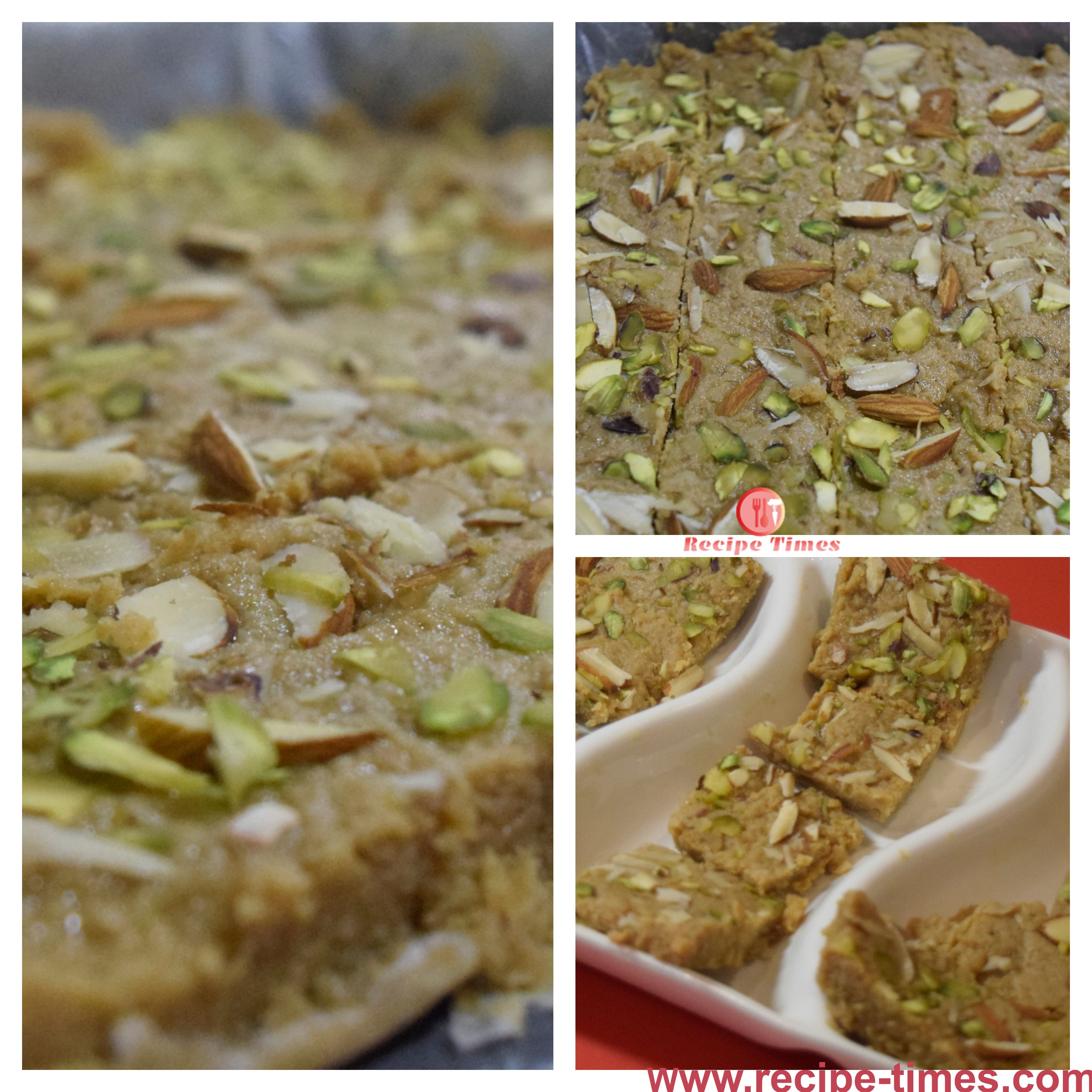 Kalakand or Milk-Cake Complete recipe is in the link below :